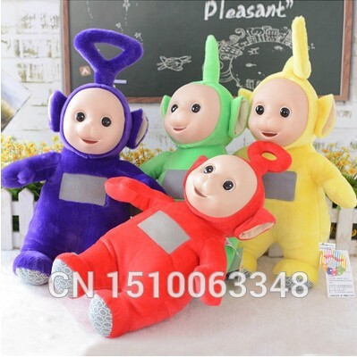 25cm  Cute anime plush Authentic Teletubbies toy stuffed with high quality doll birthday gift for children free shipping 2pcs 12 30cm plush toy stuffed toy super quality soar goofy