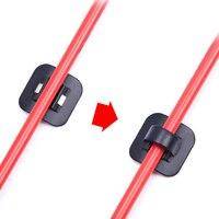 4 stücke Legierung 3M Stick auf Gehäuse/Schlauch Kabel Guide W/C clips  adapter Für Bike Shifter Brems Gehäuse  Fahrrad Rahmen C Schnalle Guides|Kabel & Gehäuse|Sport und Unterhaltung -