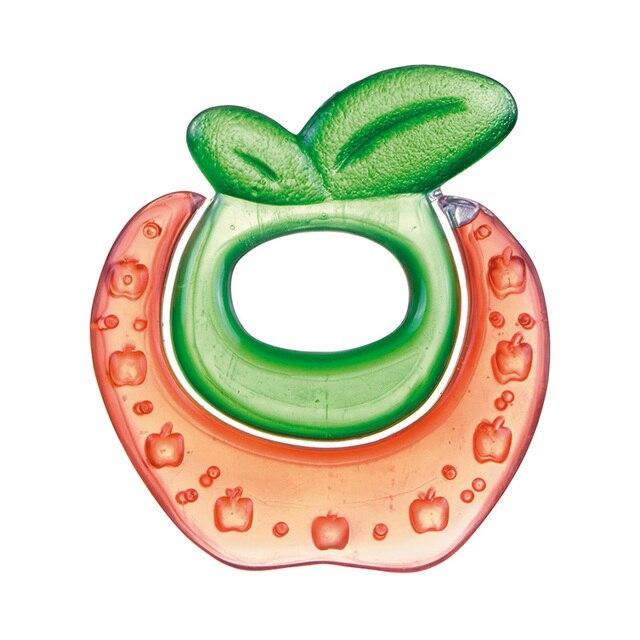 Прорезыватель Canpol водный охлаждающий - 0+ Fruits, цвет: красный, форма: яблочко