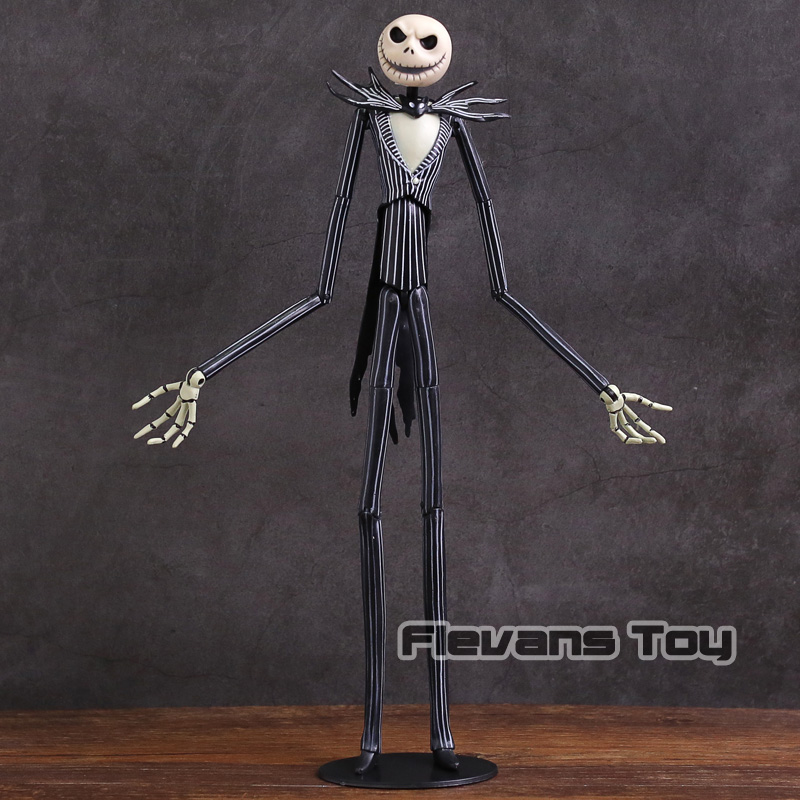 The Nightmare Before Christmas Jack Skellington PVC Action Figure Collectible Model Toy new animation tim burton the nightmare before christmas jack skellington bobble head cute 11cm action figure href