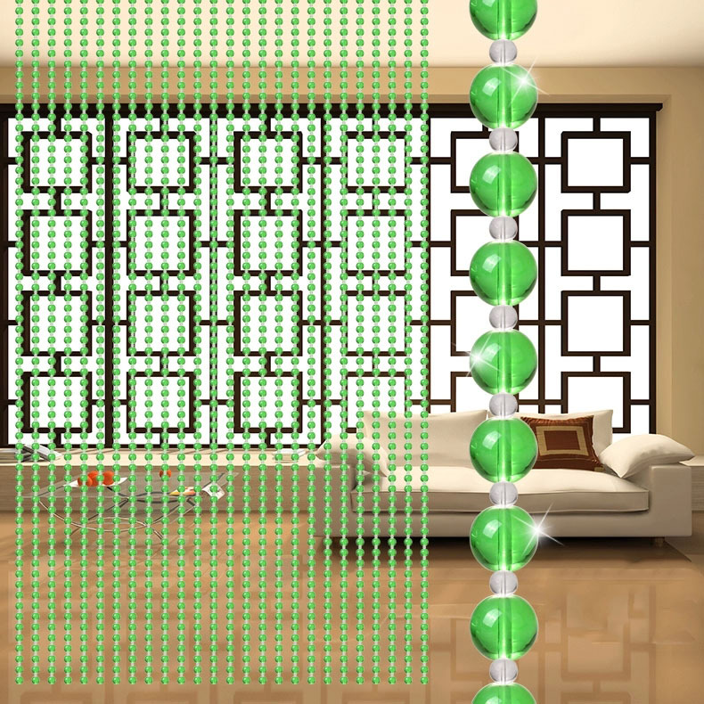 Beaded curtain trim picture more detailed picture about for Crystal home decorations