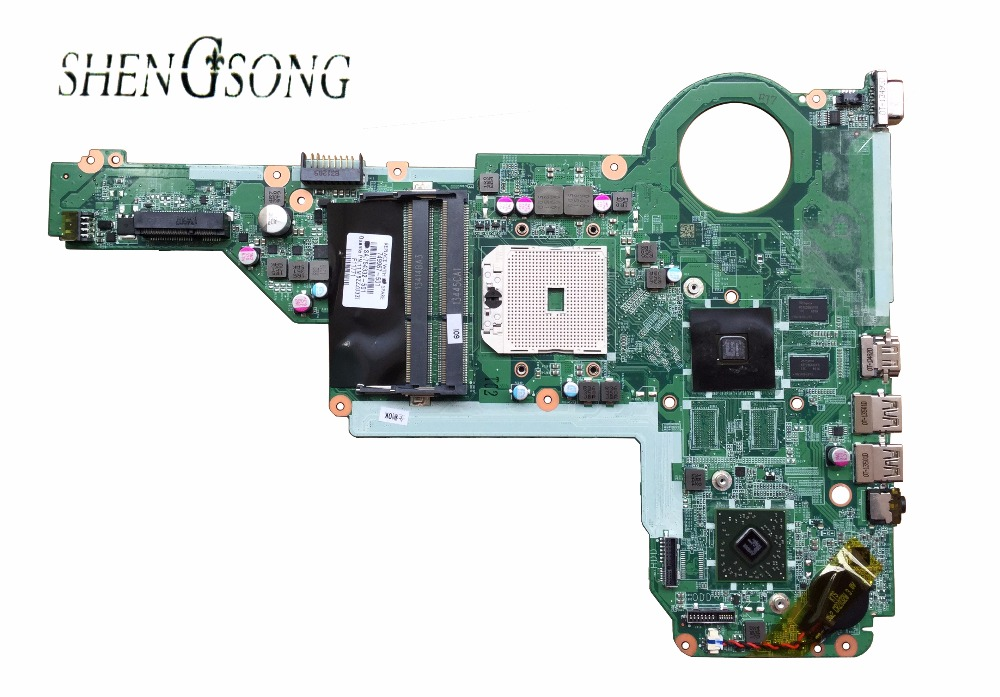 720692-501 Free shipping 720692-001 for HP pavilion 15 15-e023ax 15-e024ax 15-e026ax 15-e series motherboard DA0R75MB6C0 A76M 1G 574680 001 1gb system board fit hp pavilion dv7 3089nr dv7 3000 series notebook pc motherboard 100% working