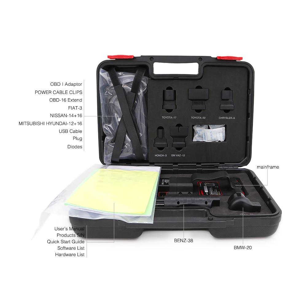 Image 5 - LAUNCH X431 Pro Mini Full Systems Auto Diagnostic tool WiFi/Bluetooth X 431 Pro mini OBD2 Car Scanner 2 years free update X431 VEngine Analyzer   -
