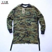 New Hip Hop Swag T Shirt Clothes High Street Urban Men Long Sleeve OVERSIZE T Shirt