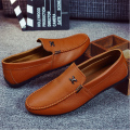 3 Colors Hot Men Loafers Shoes New Brand Fashion Breathable Soft Leather Men Casual Loafers Slip on Flat Driving Moccasins