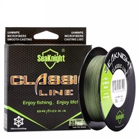 Quality Classic 500M 546YDS Braided Fishing Line 4 Strands 4 Weaves Strong Multifilament PE Line 6LB