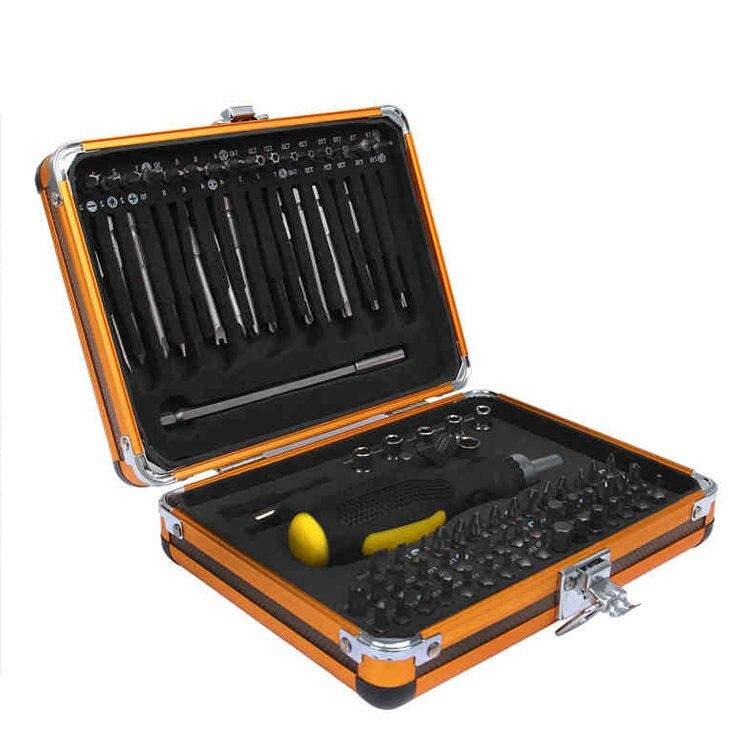2018 бытовой набор инструментов 92 в 1 коробка Чехол Многофункциональный Набор отверток Трещоточный ключ розетка электрический набор инструм