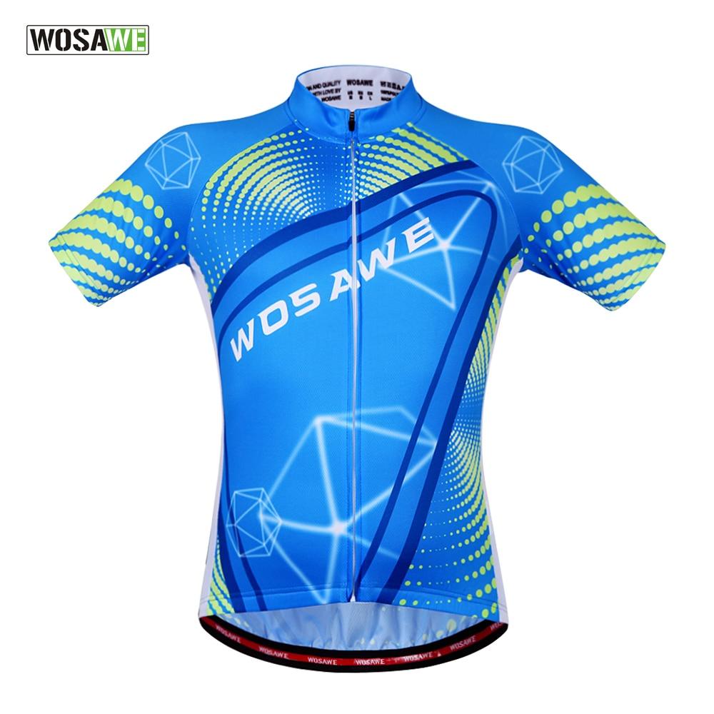 WOSAWE Summer Cycling Jersey MTB Men Bike Shirts Bicycle MTB Sportswear Fitness Tops Cycling Clothing профессиональный усилитель мощности crown dci 4 300