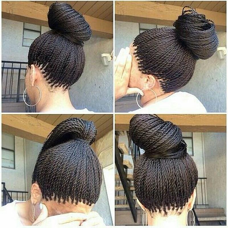 Crochet Braids Queen Kalicy : Afro Twist Braiding Long Black Color Japanese Hair Twist Braid Crochet ...