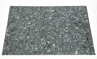 KAISH White/Black Shell 3 Ply Blank Pickguard Scratch Plate Material Sheet 290x430(mm)