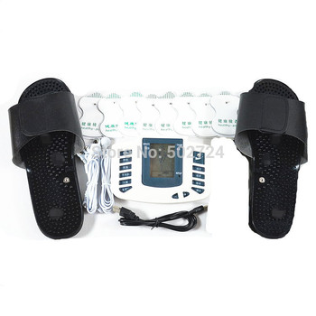 Sex Games JR309A Electro Full Body Relax Electro Massager Electro Pulse TENS Acupuncture Slipper +8 Electro Pads фото
