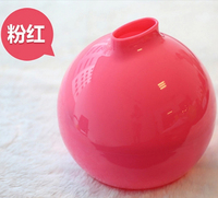 Multicolor Living Room Paper Roll Bathroom Plastic Tissue Box Simple And Lovely Round Waterproof Empty Solid