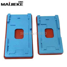 5 Sets For iphone 5 5s 6 6s 7 plus Precision aluminium mould Laminator mold for front glass with frame Location oca user DHL
