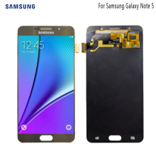 AMOLED For SAMSUNG Galaxy Note 5 Display LCD Touch Screen For SAMSUNG Note 5 Note5 N920A N9200 SM-N920 N920C Original LCD