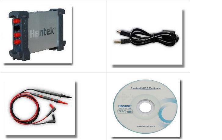 New HANTEK 365D PC Based USB Data Logger Record Voltage Current Ohm Cap. Curve Bluetooth Li-battery True RMS Digital Multimeter  цены
