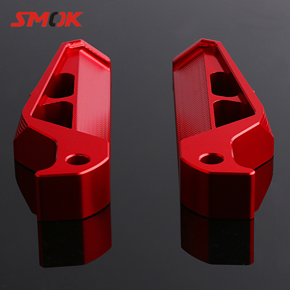 SMOK Motorcycle Rear Passenger Foot Rests Pegs Pedals Footrest For Yamaha MT09 MT07 NMAX 155 TMAX 530 Z900 BWM S1000RR