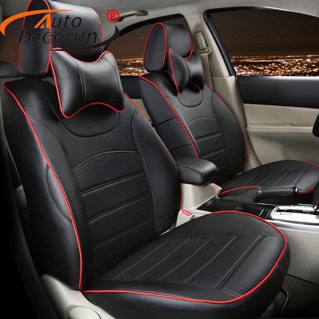 AutoDecorun Custom Cover Seats for Hyundai Tucson 2015 2016 Car Seat Covers Sets Accessoires Seats Cushion Supports Cover 16 PCS