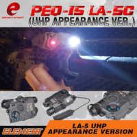 を要素エアガン PEQ15 戦術的な光赤色レーザーラ PEQ 15 狩猟ライト IR レーザーガン懐中電灯 PEQ15 武器 PEQ 15 EX396