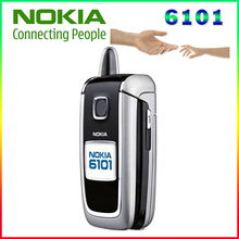 100% Оригинальный Nokia 6101 сотовый телефон разблокирован для GSM 900/1800/1900 мГц использовать телефон отличные условия Бесплатная доставка