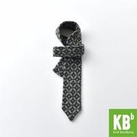 2017 Spring KBB Wool Gray Fashion 6 5 Cm Knit Formal Tie For Men Classy Necktie