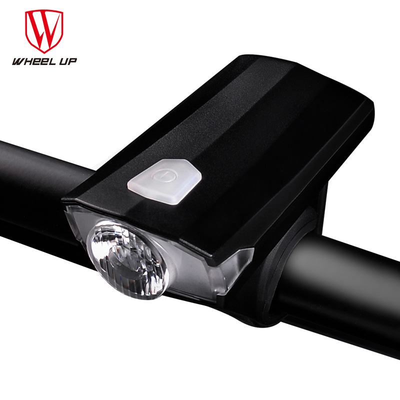 WHEEL UP Bicycle Light Bike Waterproof IPX4 Headlight USB Rechargeable Mini Cycling Lamp ...
