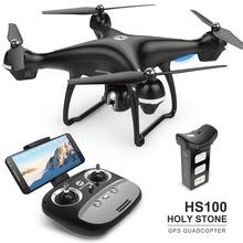 EU USA Stock Holy Stone HS100 GPS FPV RC Drone Camera Live Video GPS Return Home Adjustable 1080P 720P HD WIFI Camera Follow Me s70w gps fpv drone with 1080p hd fpv wide angle camera wifi live video follow me gps return home rc quadcopter racing dron