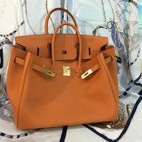 [Hely Coptar] 100% натуральная кожа Для женщин сумки из золотистого металла Топ ручка сумка Теплые классические Стиль Tote Бизнес 2018new 3 размера зерна