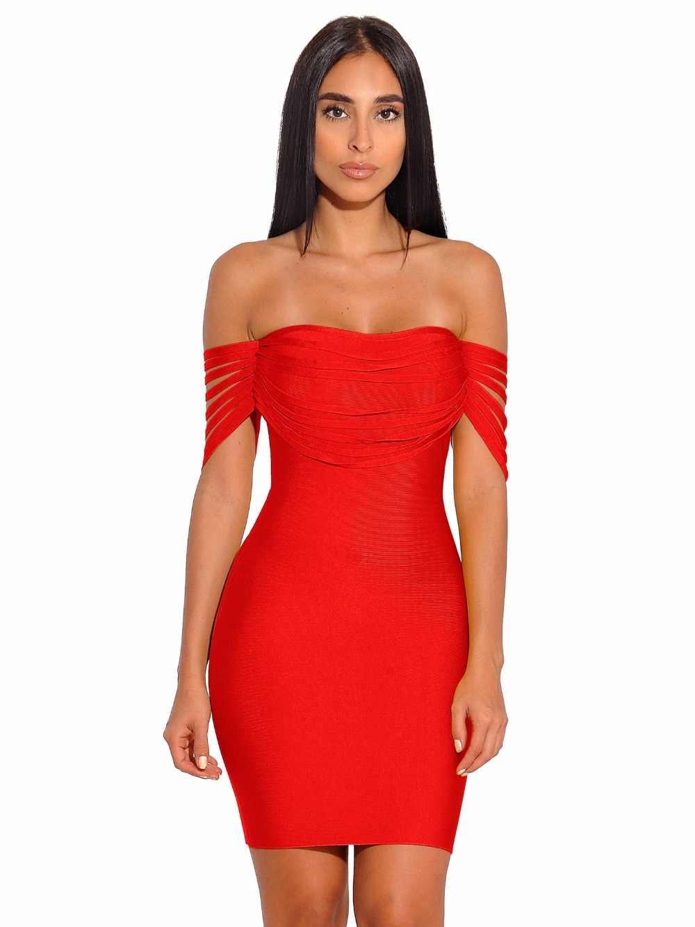 Летнее коктейльное сексуальное выпускное Красное Желтое без бретелек облегающее платье с бахромой на плечах короткое Бандажное мини-платье праздничная одежда с кисточками Vestidos