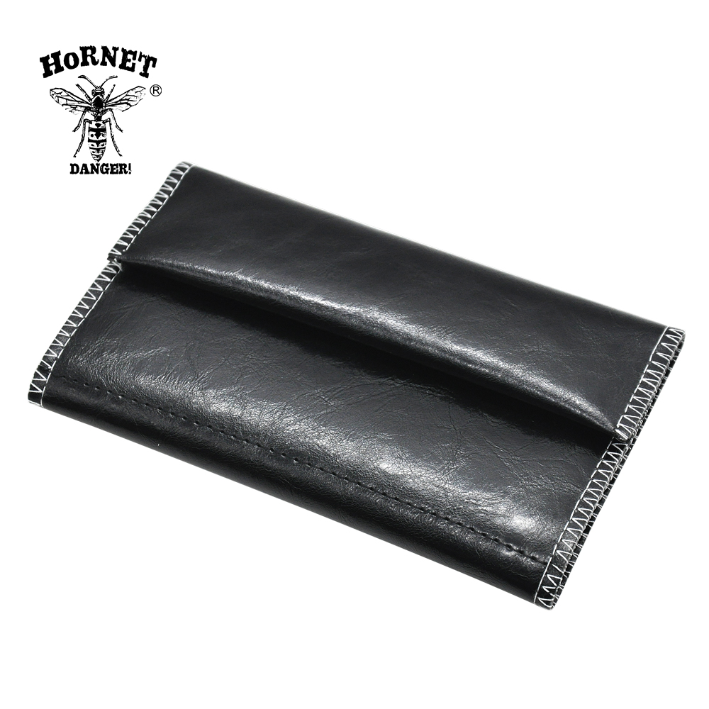HORNET Leather Tobacco Pouch Portable Cigarette Rolling Pipe Tobacco Bag Case Wallet Tip Paper Holder Smoking Accessories 1