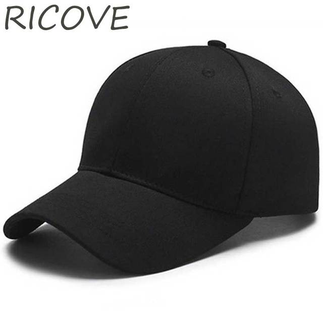 2018 Streetwear Dad Hat Plain Snapback Baseball Cap Unisex Trucker Caps  Solid Hip Hop Hats Women Men Summer Black Hat Adjustable dad8a175f493