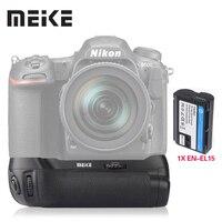 Профессиональный вертикальный батарейный блок Meike MK-D500 с аккумулятором для Nikon D500  as EN-EL15