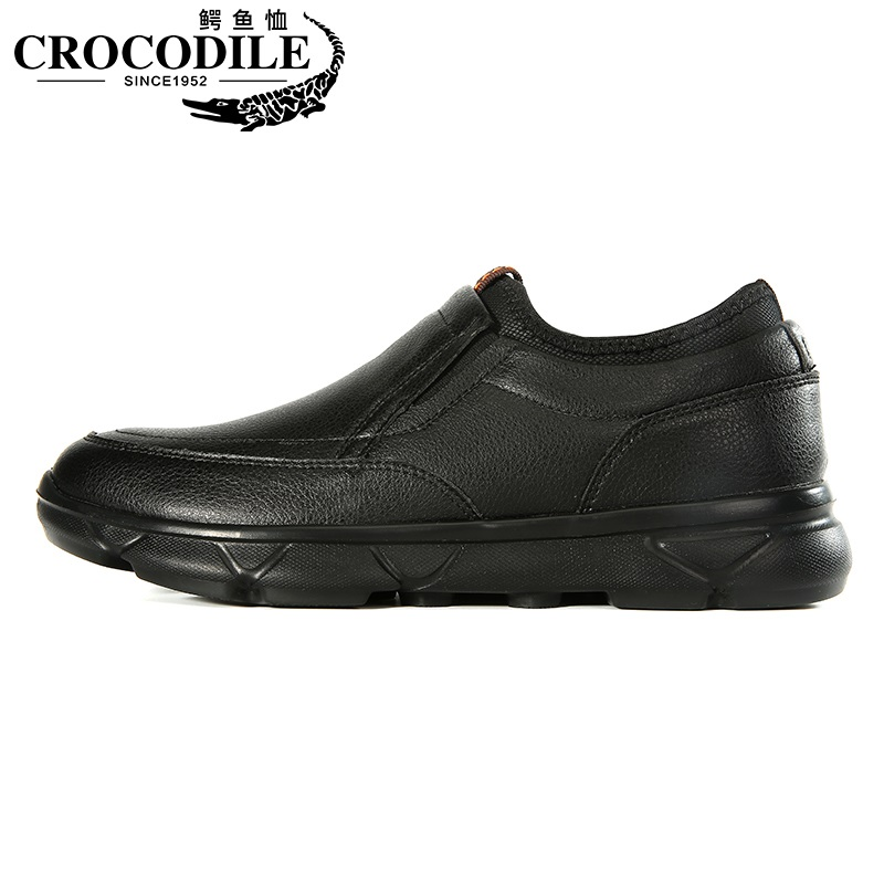Crocodile Men Thermal Walking Sneaker Shoes Male Casual Loafers for Mens Jogging Sport Shoes Velvet Leather