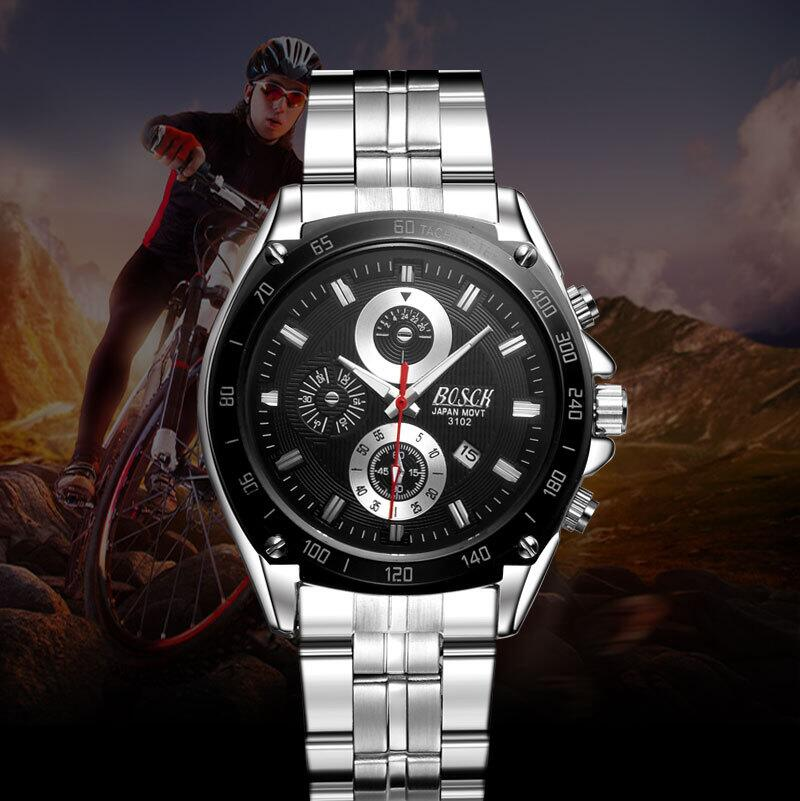 2016 Fashion men's watch, automatic calendar waterproof quartz watch, watch of wrist of high-end brands, sports leisure watches