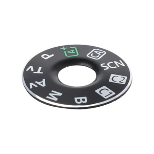 Image 5 - Camera Function Dial Mode Interface Cap Button Repair Parts For Canon EOS 6D New