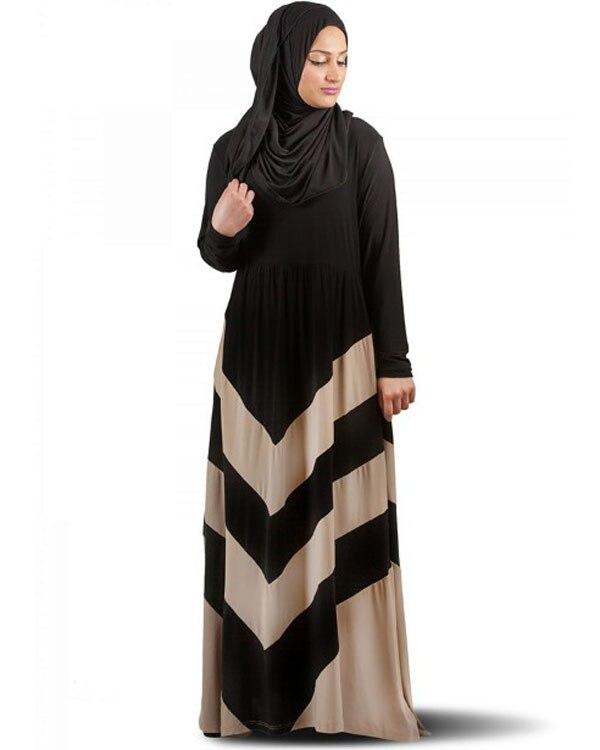 Aliexpress.com : Buy Black Hijab Turkish Dubai Kaftan ...