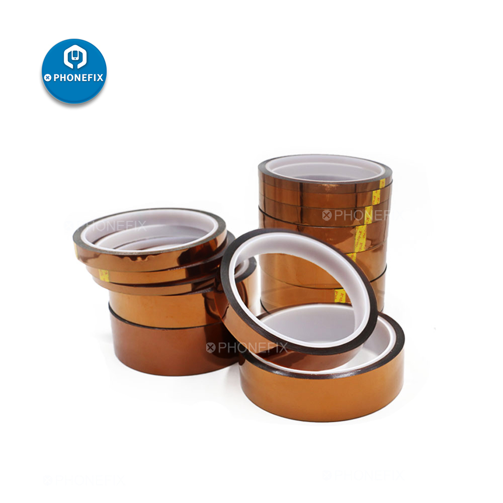 High Temperature Tape BGA Repair Thermal Insulation Tape Polyimide Adhesive Tape For Mobile Phone Motherboard Protection