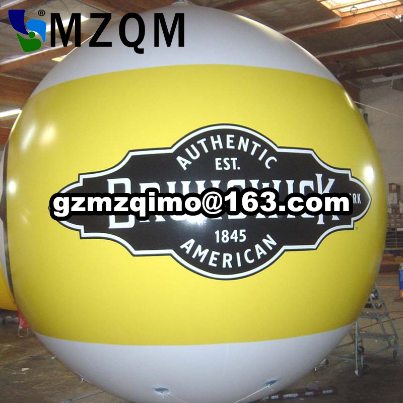 Free Shipping HOT 3m Large Red Inflatable Advertising Helium Balloon,Inflatable Sphere, More Impressive ,GOOD for Promotion