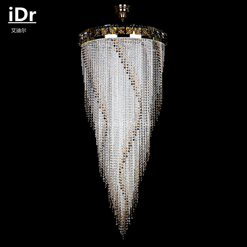 Romantic pastoral european luxury living room hotel 12 handmade romantic pastoral european luxury living room hotel 12 handmade crystal chandelier idr 0041 in chandeliers from lights lighting on aliexpress mozeypictures Gallery
