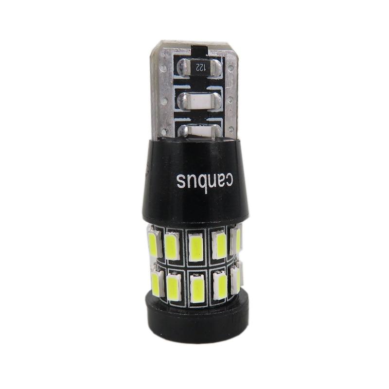 """4 SMD 5050 LED Blanco Bombilla Canbus Libre De Error /""""SIDELIGHTS/"""" Nuevo 501 W5W 2 X T10"""