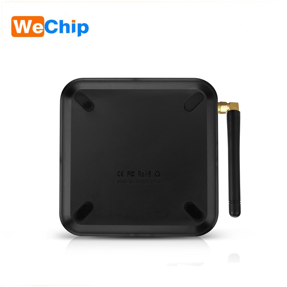 Wechip TX6 Intelligent Android 9.0 TV BOX 4G 32G Allwinner H6 Quad core 2.4G + 5G double Wifi BT 4.1 Set Top Box 4 K HD H.265 lecteur multimédia - 2