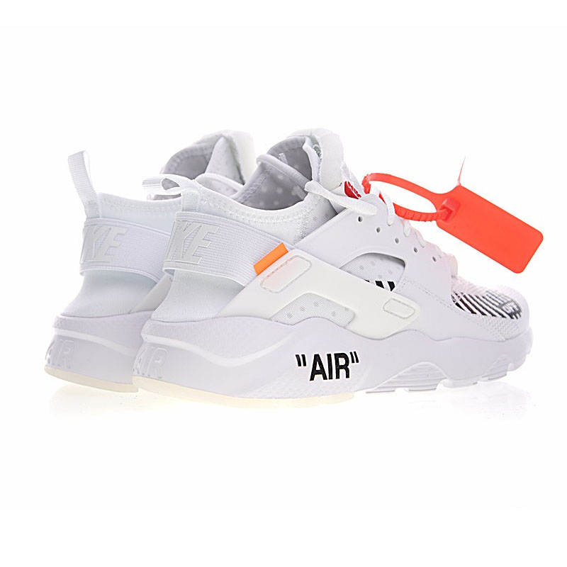 Original New Arrival Authentic Off White X Nike Air Huarache Ultra ID Mens  Running Shoes Sneakers Outdoor Walking Jogging,in Running Shoes from Sports