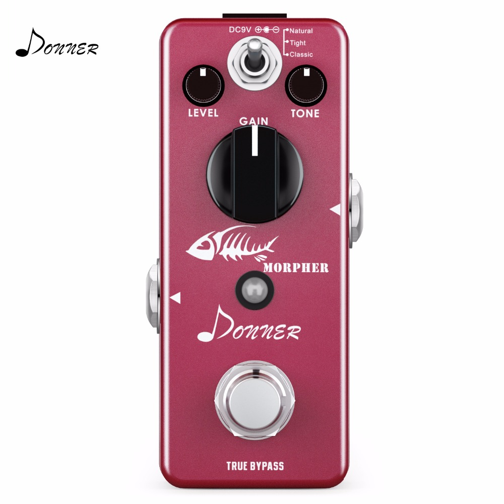 Pedal, Effect, Morpher, Modes, Distortion, Donner
