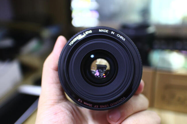 Prix pour Prêt Stock! pour canon camera lens 35mm grande ouverture auto focus lens pour canon eos 5dii 5d 500d 400d 650d 600d 450d 60d 7d