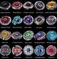Varejo 1 Pcs 27 estilo pode escolher 1 pcs Fusão de Metal Beyblade 4D o sistema de Batalha Top Mestres Fúria com Lançador de Metal BB105 BB119 BB1