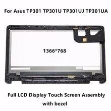 "13,3 ""Full Lcd-bildschirm Touch Digitizer Bildschirm-baugruppe + Lünette Für Asus TP301 TP301U TP301UJ TP301UA TP301UA-C4018T TP301UJ-C4011T"