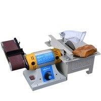 Sander Desktop Multifunction Belt Sander Jade Table Saw Mill Woodworking Polishing Cutting Machine knife sharpener 220V DIY