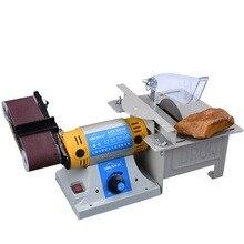 Sander Desktop Multifunction Belt Sander Jade Table Saw Mill Woodworking Polishing Cutting Machine knife sharpener 220V DIY цены