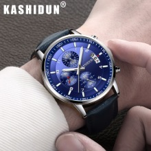 Hot-sell luxury brand watches men 2017 best fashion casual charm luminous sport relogio masculino waterproof 30m KASHIDUN Watch