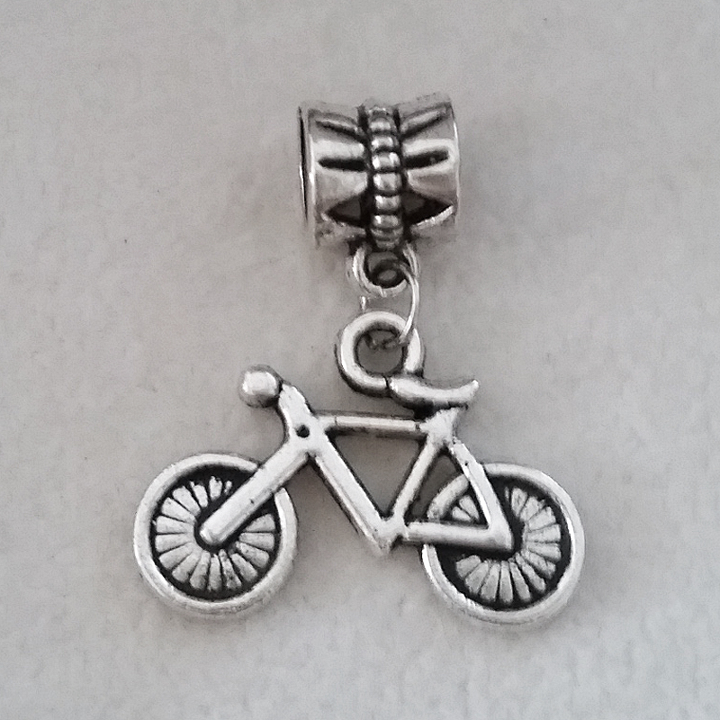 abalorio pandora bicicleta