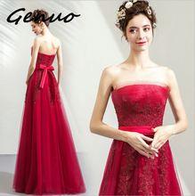 Genuo New 2019 Women Sexy Slash Neck Long Sleeve Off Shoulder Sequin Dresses Female Retro Elegant Maxi Dress Vestidos 7611